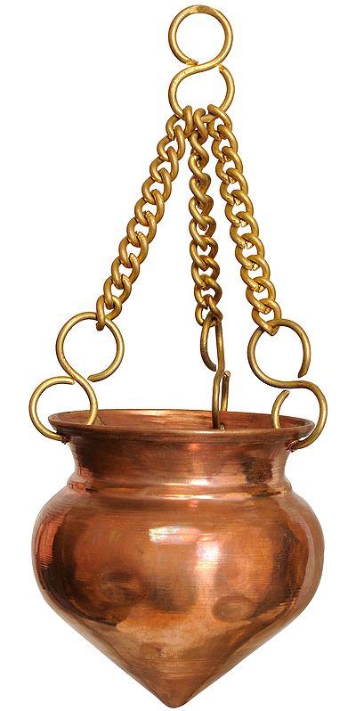 Dripping Vase for Milk for Abhisheka of Shiva Linga