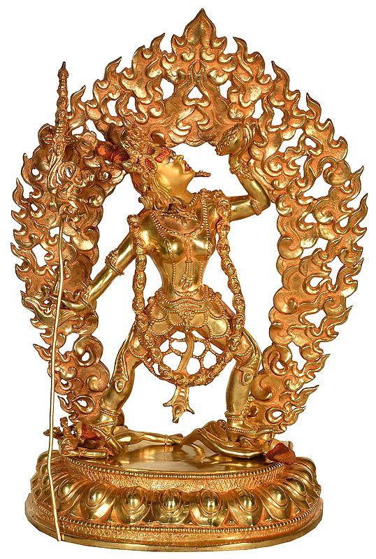 Made in Nepal Tibetan Buddhist Deity Vajrayogini