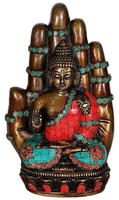 Buddha in Hand (Tibetan Buddhist)