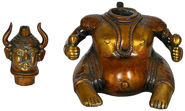 Tantric Incense Burner - Tibetan Buddhist