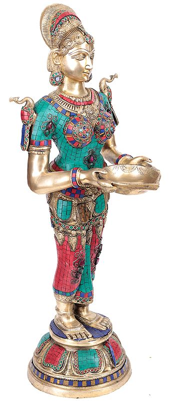 Large Size Deepalakshmi