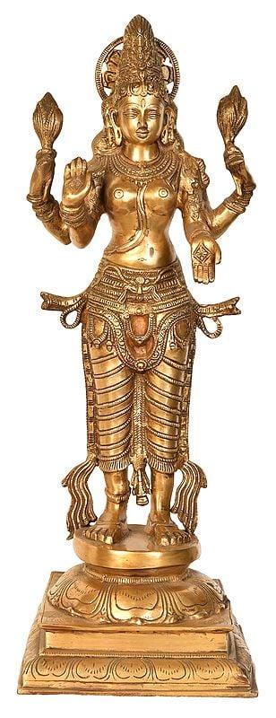 Lakshmi Ji with the Haloed Crown