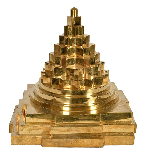 Large And Heavy Accurate Shri Yantra (Maha Meru)