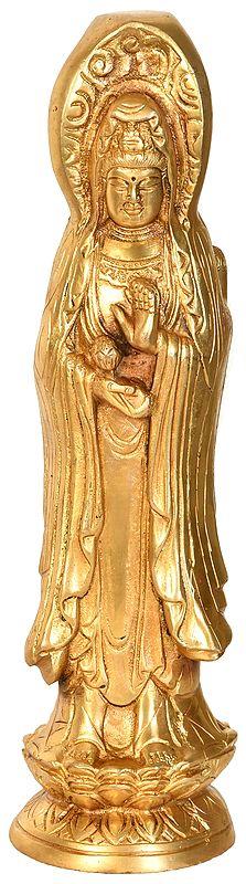 Kuan Yin - Tibetan Buddhist Goddess of Compassion