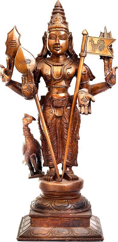 Karttikeya - The Hindu God of War and The Brother of Ganesha