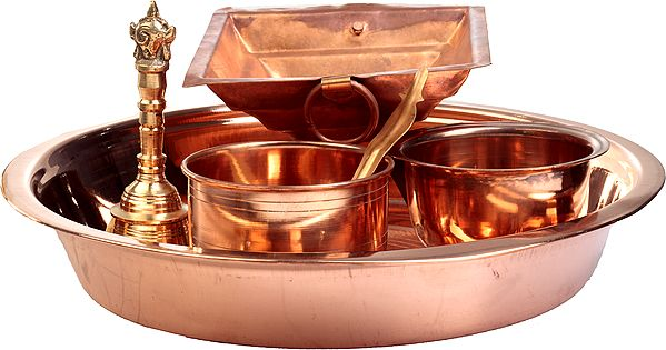 Set of Implements for Performing Agnihotra