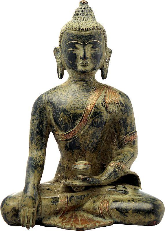 Padmasana Buddha, The Aura Of His Tapa