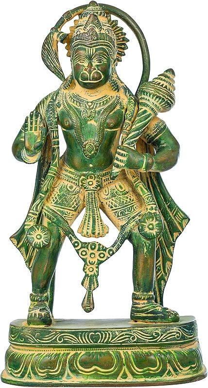 The Divine Strength of Hanuman