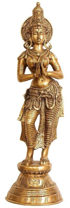 Namaste Lady (Anjali Mudra)