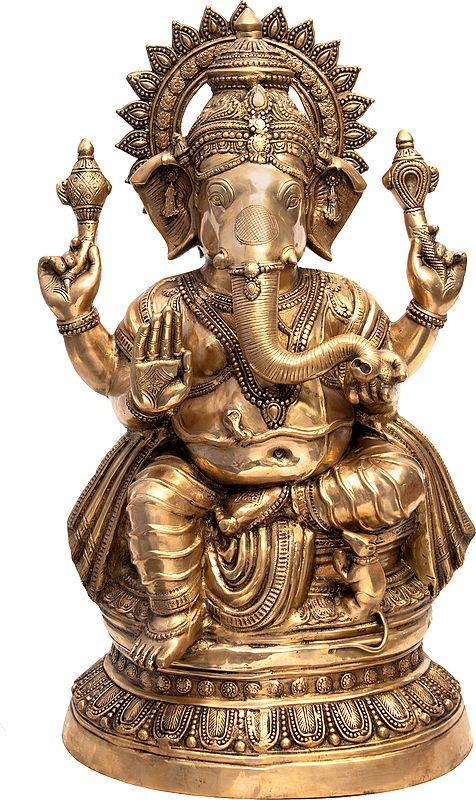 Large Size Ganesha, The Blissful God of Auspices