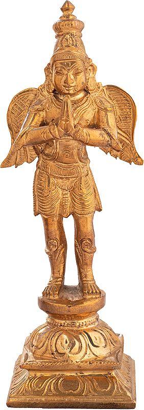 Garuda, In Obeisance to Lord Vishnu