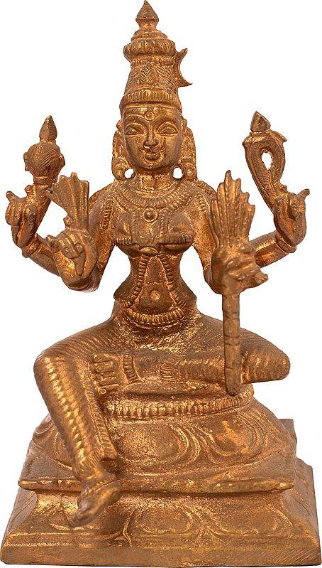 Handheld Rajarajeshwari (Tripura Sundari)