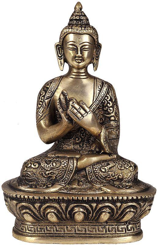 Buddha In The Dharamachakra Mudra
