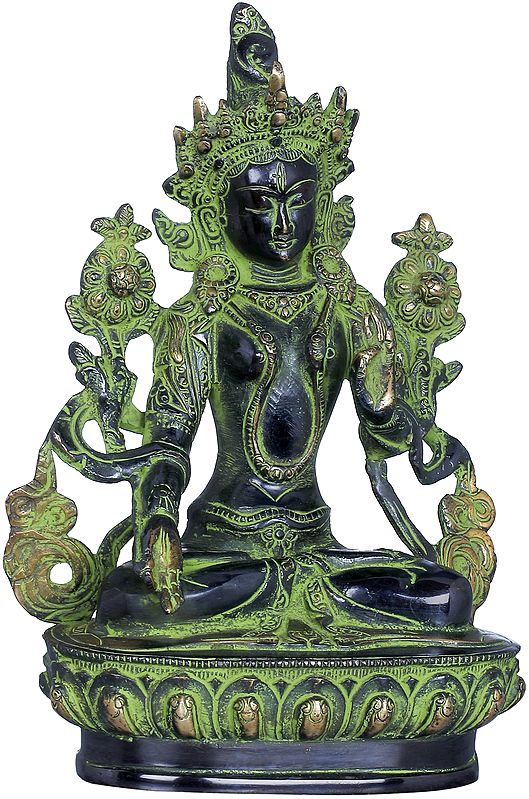 White Tara In Her Meditative Splendour