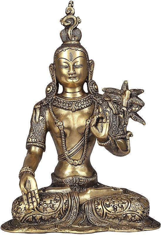 White Tara, With The Imposing Crown