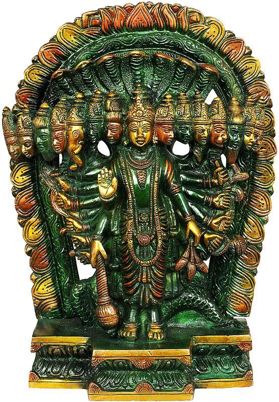 Vishnuji, His Cosmic Magnification