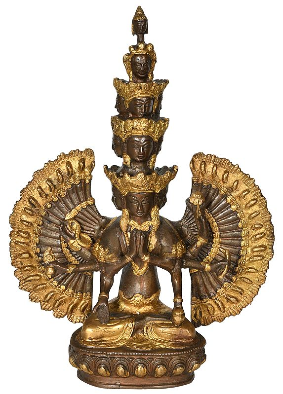 The Glorious Eleven-headed Avalokiteshvara