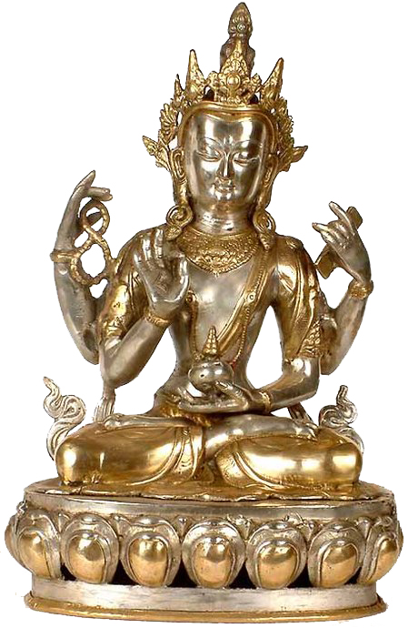 The Buddhist Deity, A Composite Image