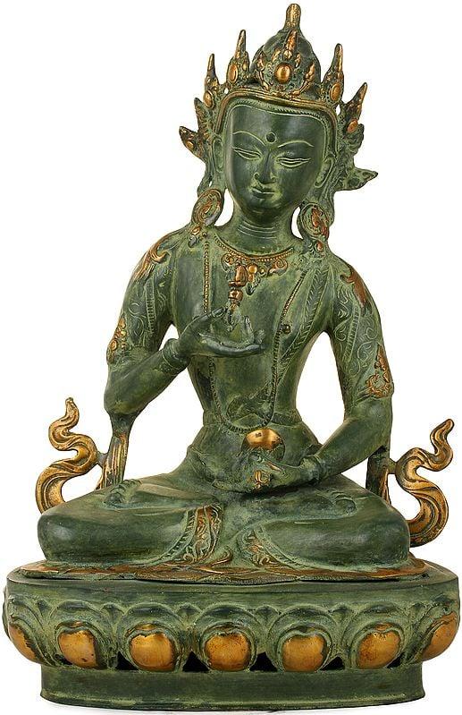 Vajrasattva, The Primordial Buddha (Tibetan Buddhist Deity)