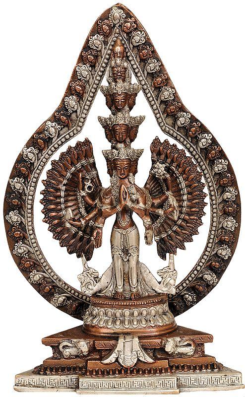 Striking Aureole Lord Avalokiteshvara