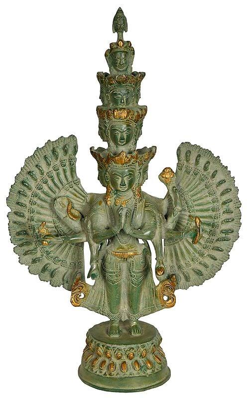 The Eleven Heads, The Thousand Arms Of Avalokiteshvara