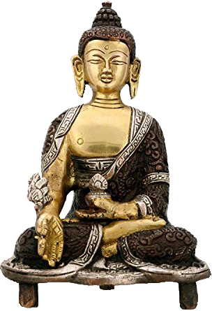 Medicine Buddha, Seated Upon A Chowki