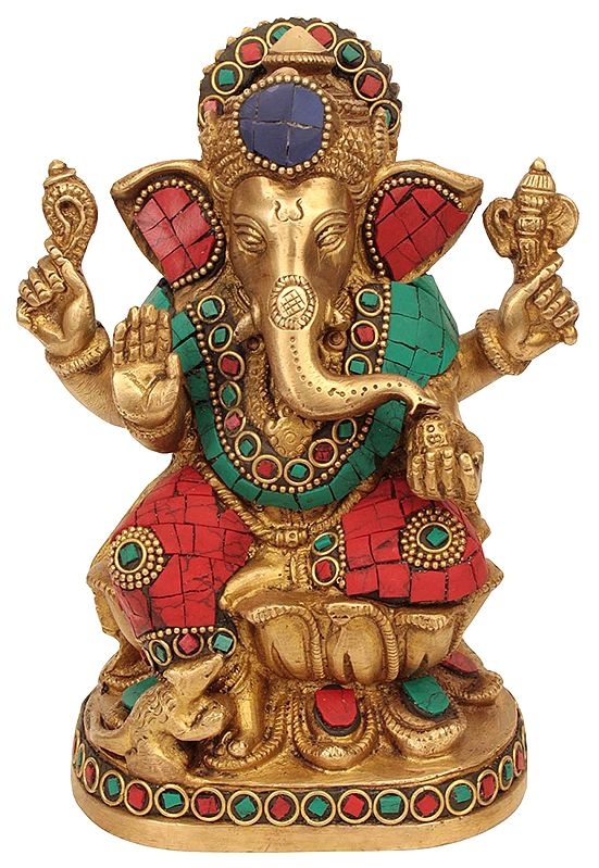 Ganesha Generously Proffering His Blessings