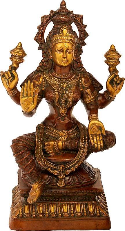 Large Size Four-Armed Blessing Lakshmi