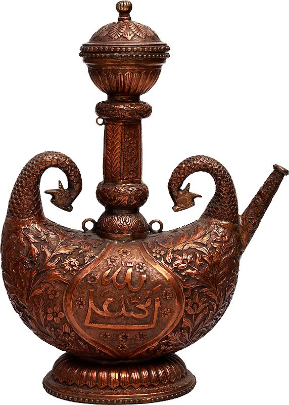 Finely Carved Superfine Islamic Surahi