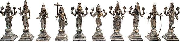 Dashavatara  -Ten Incarnations of Lord Vishnu