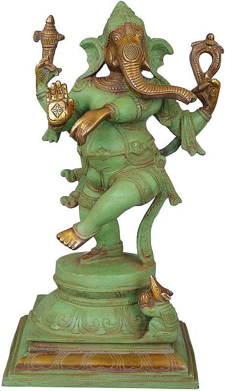 Adorably Dancing Ganesha