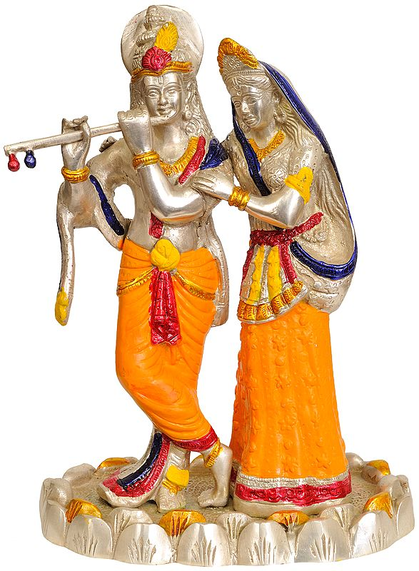 Radha-Krishna, In Perfect Harmony With Each Other