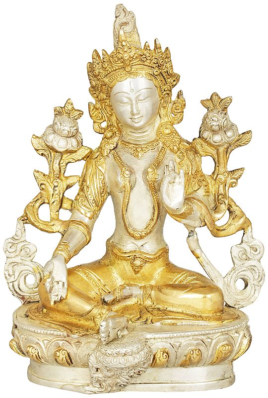 Green Tara, Who Saves You (Tibetan Buddhist Deity)
