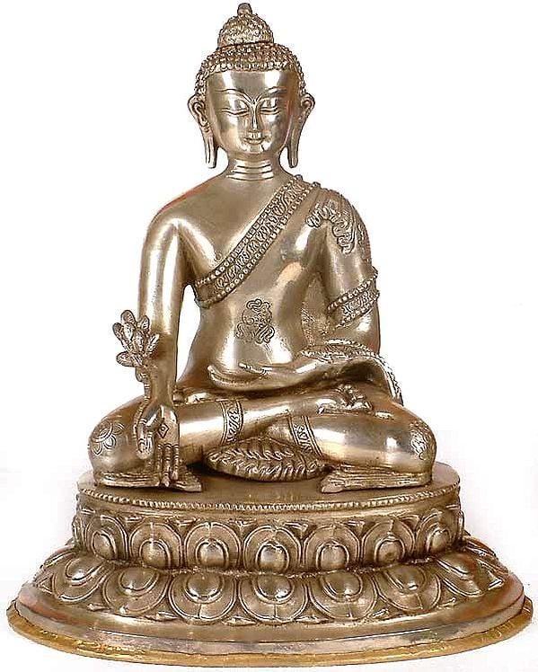 The Dazzling Medicine Buddha Heals You