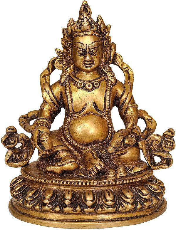 Kubera, The Parlokiya Banker (Tibetan Buddhist Deity)