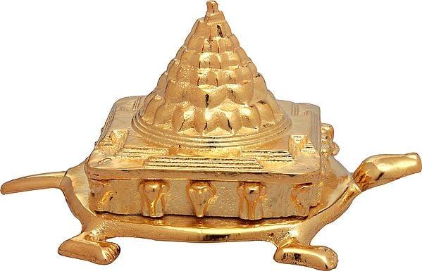 Shri Yantra on Tortoise (Auspicious According To Vastu)