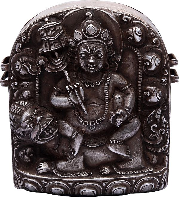 Kubera Gau Box - The Tibetan Buddhist Deity (Made in Nepal)