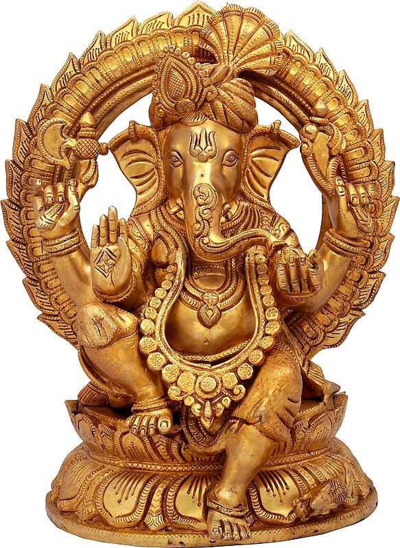 Ganesha Turbaned, The Beloved Of Devotees Worldwide