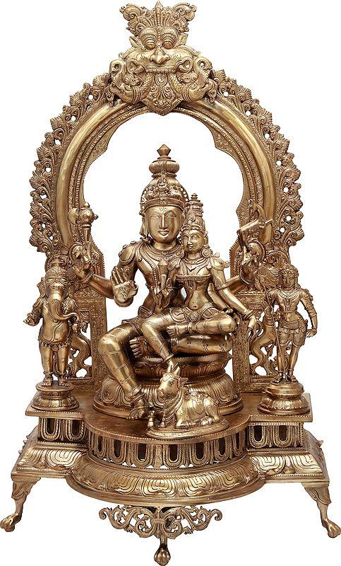 The Ethereal Majesty Of Shiva-parivar