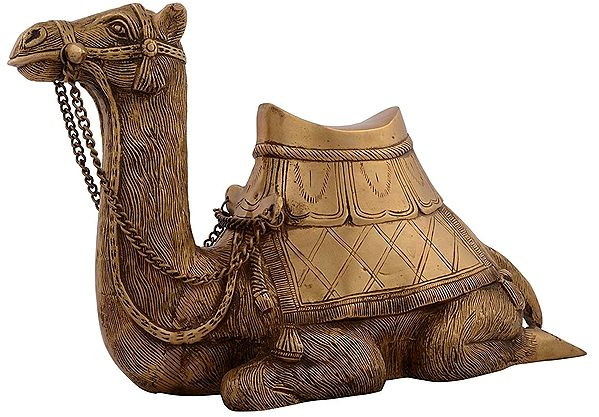 Camel Sitting Decorative Statue