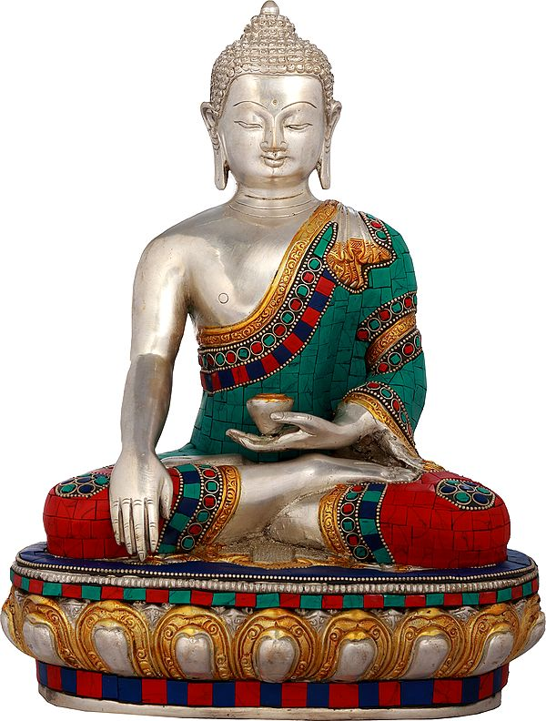 Buddha Invoking Mother-Earth to be His Witness