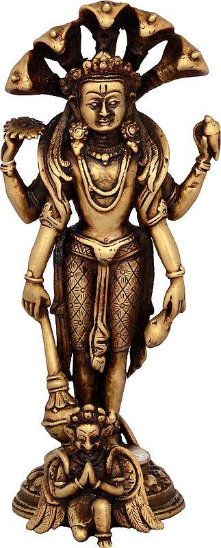 Lord Vishnu - Made in Nepal