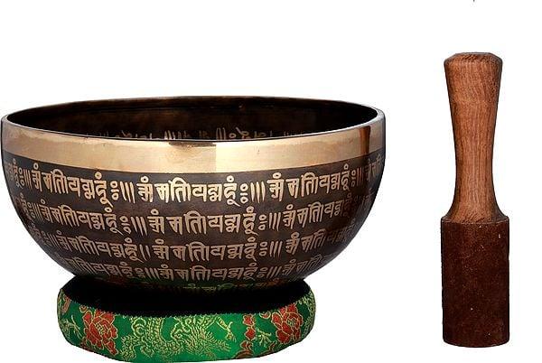Tibetan Buddhist Vishwa-Vajra Singing Bowl