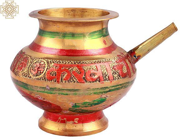 Karva Chauth Kalash (Marked with Sada Suhagan Raho)
