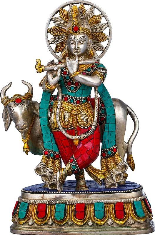 Krishna with Cow