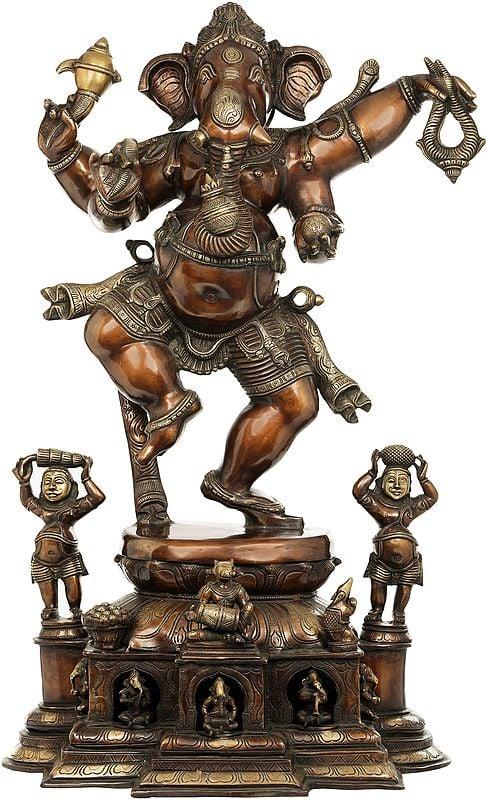 Ganesha, The Pot-bellied Deity That Dances