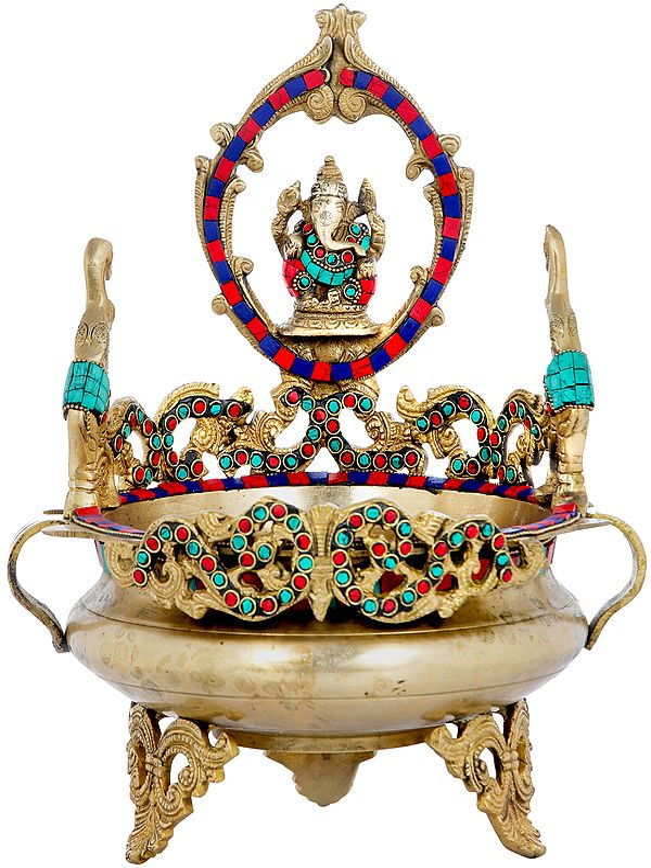 Lord Ganesha Urli