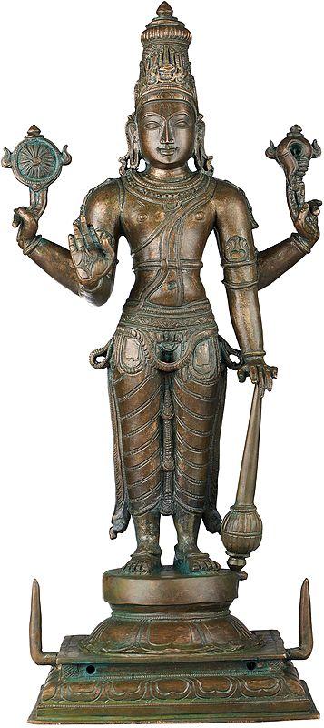 Superfine Standing Lord Vishnu