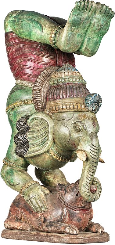 Ganesha in Yoga Asana