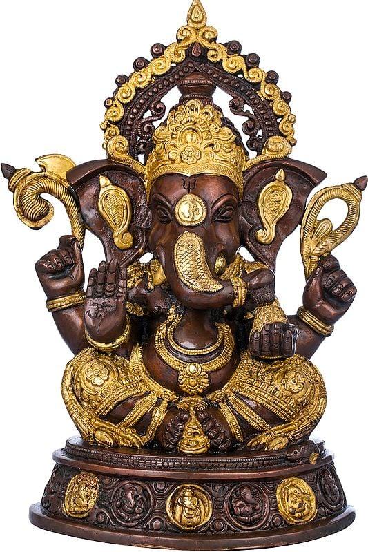 Crowned Ganesha - The Most Auspicious Deity
